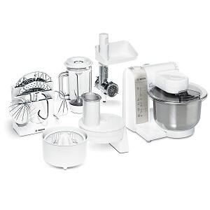 Bosch Küchenmaschine mit Fleischwolfund Zitruspresse MUM4880