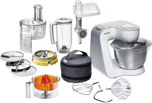 Küchenmaschine mit mixaufsatz